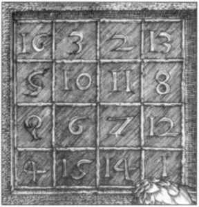 Магический квадрат Дюрера